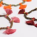 Kriti Tassel Bracelet Turquoise image