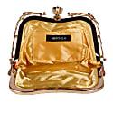Tamiq Sequin Evening Clutch Bag - Gold Floral image