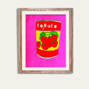 A Tin of Tomatoes Limited Edition Signed Print image