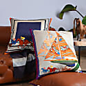 Sails Silk Cushion image