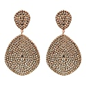 Monte Carlo Earring Rosegold Champagne image