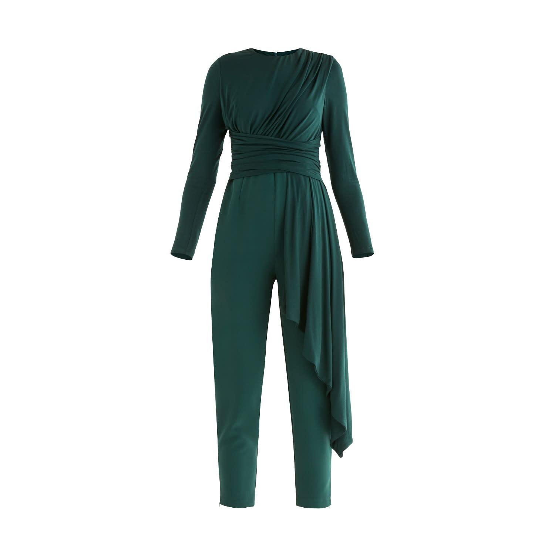 Hazel Jumpsuit in Dark Green
