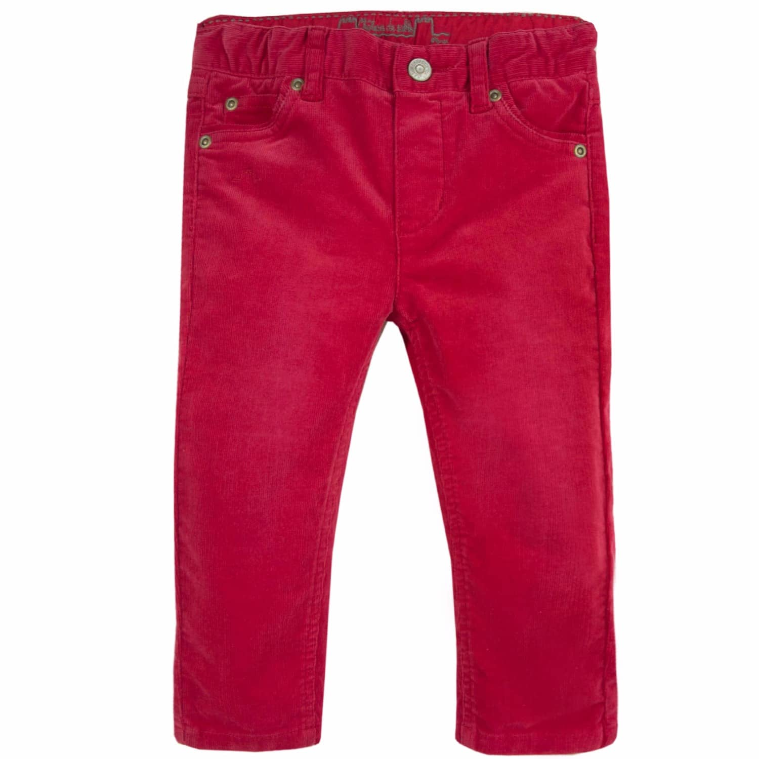 delicate colors top-rated professional superior materials French Designer Boys Red Corduroy Trousers by Chateau De Sable