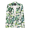 Casual Blazer With Floral Print image