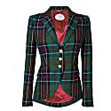 Green Checkered Blazer Eloisa image