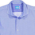 Comporta Printed Shirt in Blue image