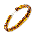 Accent Bracelet Brown Baltic Amber image