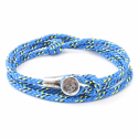 All Blue Dundee Rope Bracelet  image