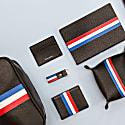 Luca Stripe Vegan Leather Wallet image