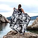 Koi Mono Lightweight Silk Cotton Scarf image