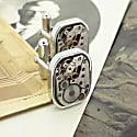 Vintage Silver Watch Movement Cufflinks image
