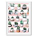 Cacti 3 Art Print image