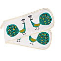 Peacock Oven Gloves image