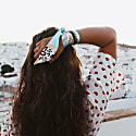 Turquoise Silk Tie image