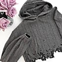 Distressed Knit Sweater image