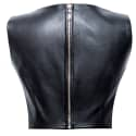 Leather Crop Top image