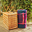 Pure New Wool Waterproof Picnic Blanket - Highland Dream image