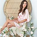 Luxe Robe Blush Pink image