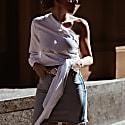 Handmade Leather Belt Nude Alessia image