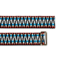 Sunda Jacquard Belt Turquoise & Red image
