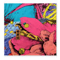 Matching Cropped Eden Garden Pocket Square No.6 image