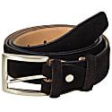 Black Trento Leather Belt image