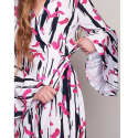 Helena Dress - Pink Abstract image