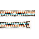 Sunda Jacquard Belt Turquoise & Coral image