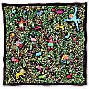 Kings of Dahomey Silk Scarf image