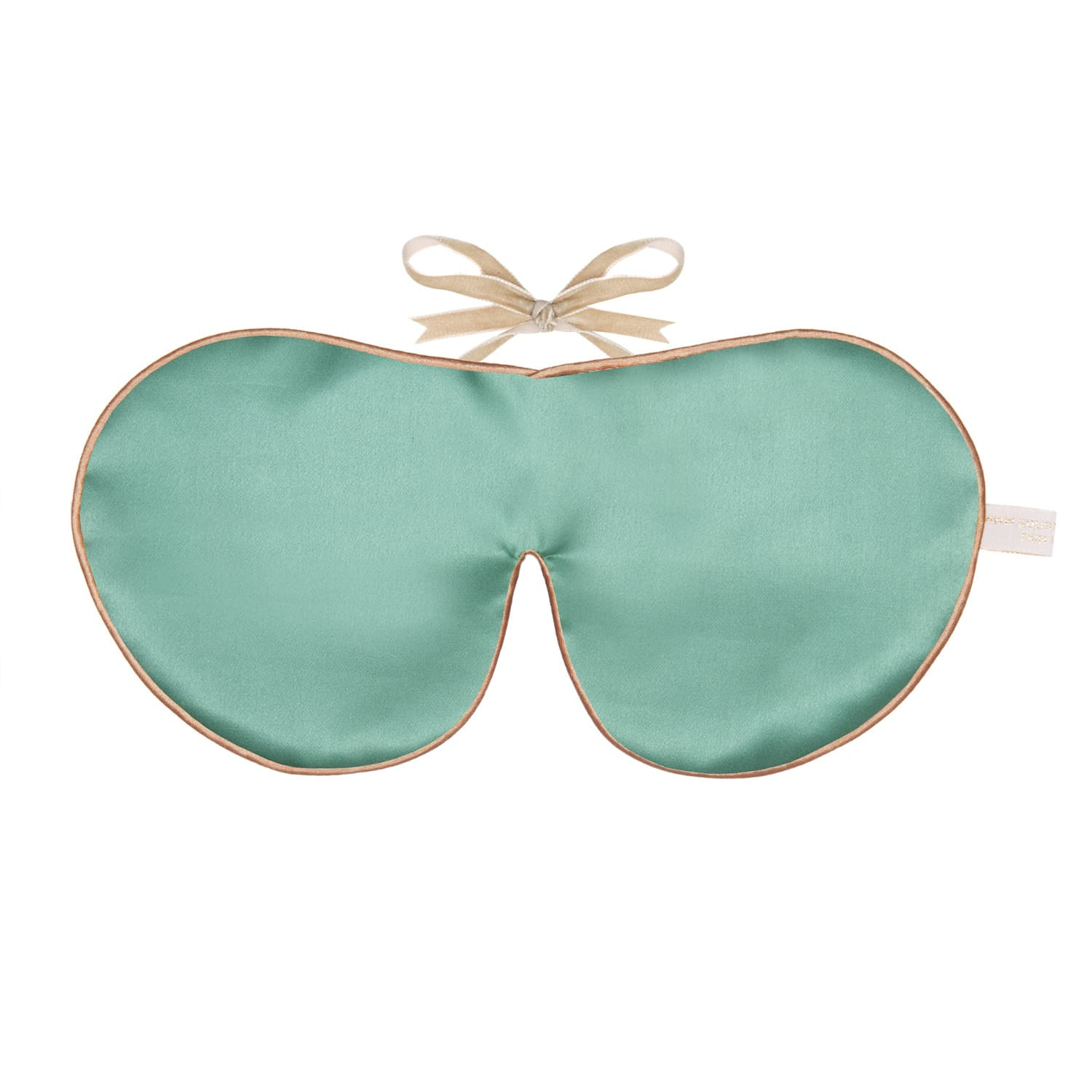 3a4266d53 Pure Mulberry Silk Lavender Eye Mask Jade image