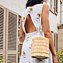 Sunflower Hand Block Dress image