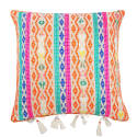 Berber Orange Hemp Cushion image