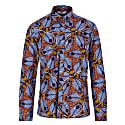 Asante Long Sleeve African Print Shirt image