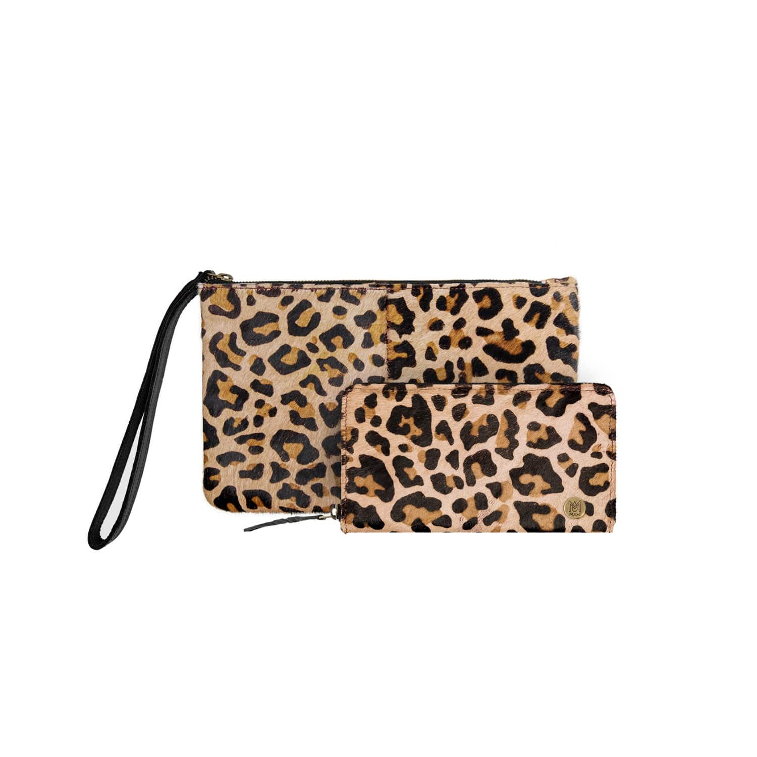 Matching Clutch   Purse Gift Set In Leopard Print Pony Hair Leather ... c64cfc3016fb4