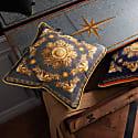 Neptunian Grey Silk Cushion image