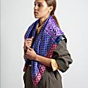 Purple Opulence Silk Scarf L image