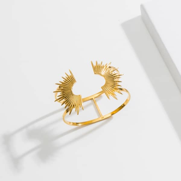 Rachel Jackson London Sunrays Statement Cuff