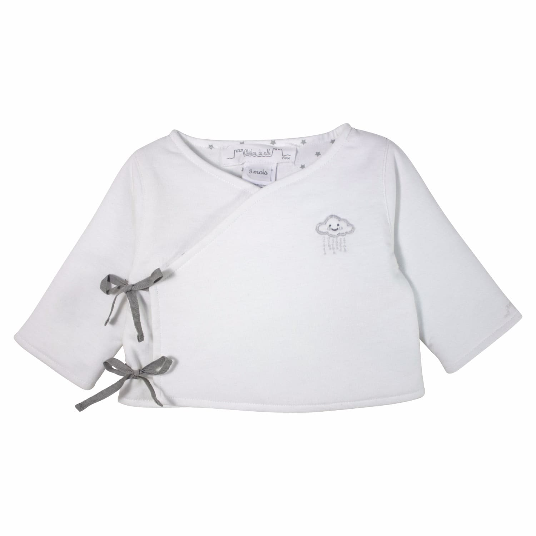 c3cf0f8c3f5f4 French Designer Unisex Baby Wrap Cardigan