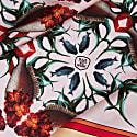 Large Fish Silk Scarf image