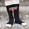 Black & Cream London Bus Men's Socks 2 Pack image