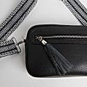 Crossbody Bag In Black With Interchangable Strap image