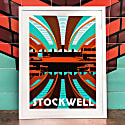 Stockwell London Art Print image