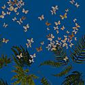 Blue Fireflies Midi Dress image