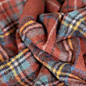 Recycled Wool Blanket In Stewart Royal Antique Tartan image