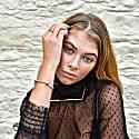 Silver & Gold Classic Screw Cuff Bracelet image