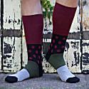 Mayfair & Hilltop Burgundy Men'S Socks 2 Pack image