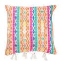 Berber Orange Hemp Cushion image