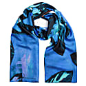 House Plant Silk Twill Long Scarf image