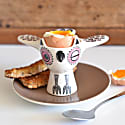 Pink Owl Egg Cup image