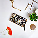 Classic Ladies Purse In Leopard Print Pony Hair Leather image